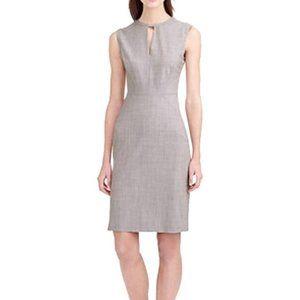 J. Crew Keyhole Sheath Career Italian Wool Dress